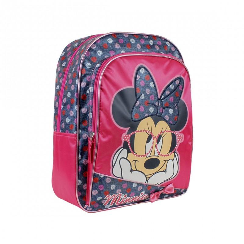 Dívčí Batoh S Myškou Minnie / Minnie Mouse / 30 x 41 x 15 cm