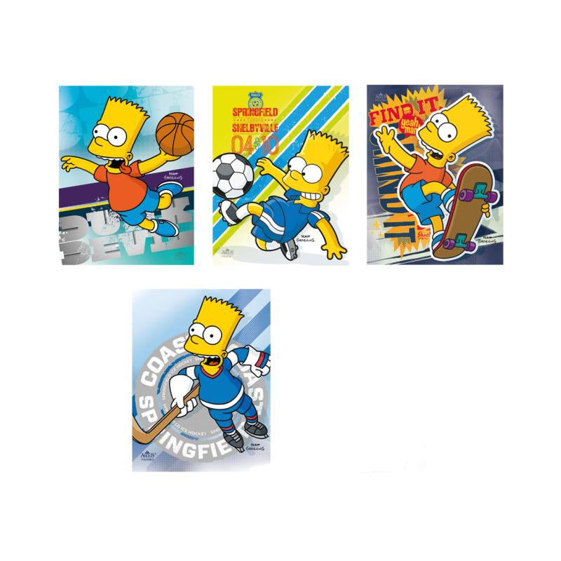 Trhací zápisník Bart Simpson