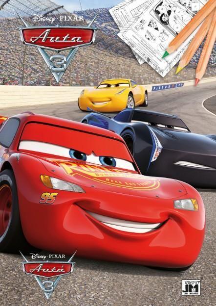 Omalovánka Auta / Cars McQueen A4