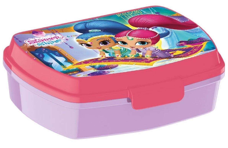 Krabička na svačinu pro holky Shimmer a Shine fialová / růžová