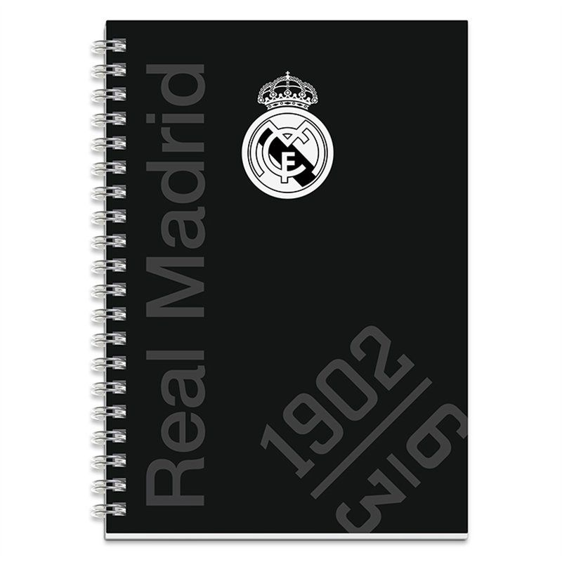 Notes / Blok Real Madrid spiral / A5