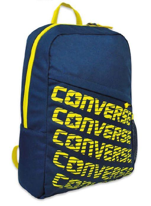Školní batoh Converse / žluté logo / 28 x 44 x 14 cm