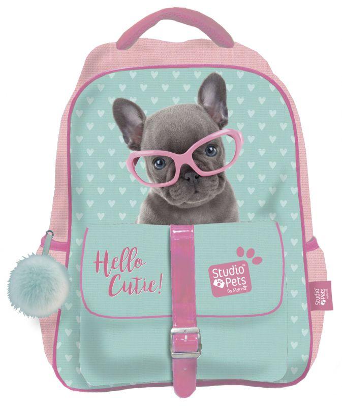 Školní batoh / Studio Pets / štěně / 40 x 28 cm