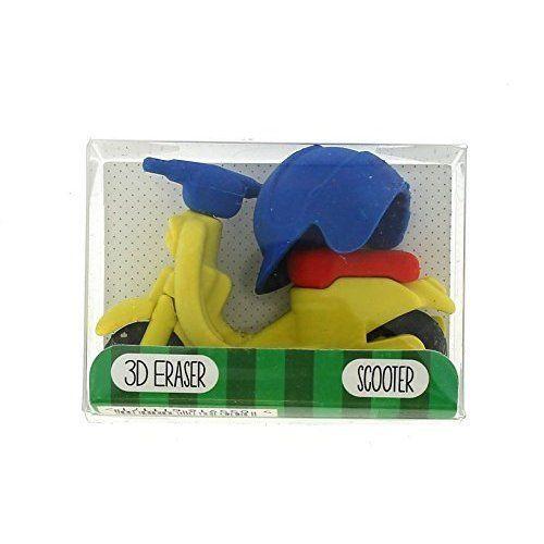 Školní guma 3D / skútr