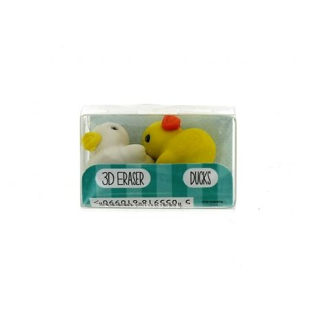 Školní gumy 3D / Kačenky