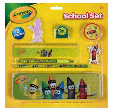 Set školních potřeb Crayola / 8 dílů