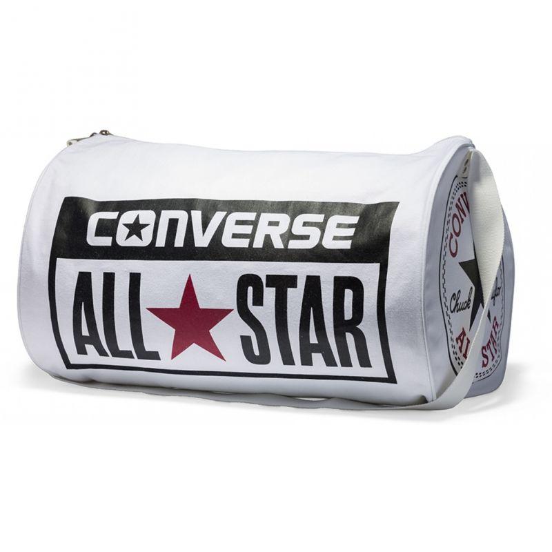 Sportovní taška na jedno rameno Converse / Bílá