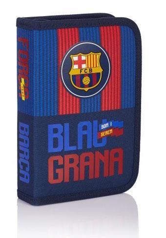 Penál / Pouzdro s vybavením FC Barcelona / Blau grana