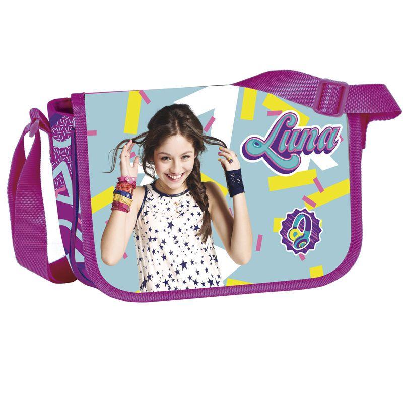 Příruční taštička Soy Luna fialová 23 x 16 x 6 cm