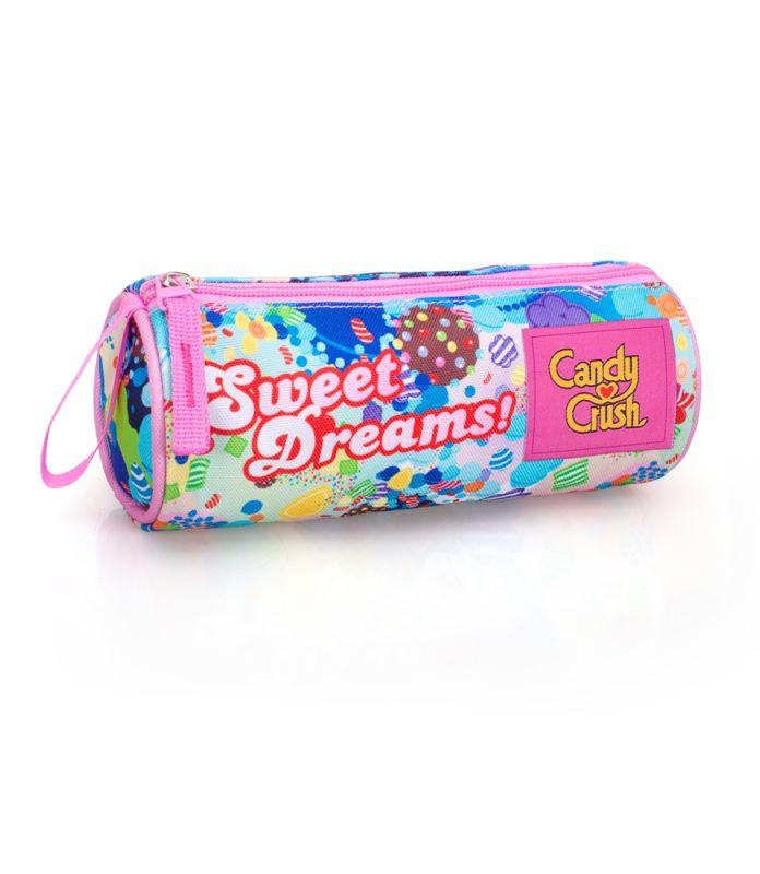 Penál / pouzdro oválné / Candy Crush / Sweet Dreams