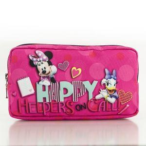 Kosmetická taštička na zip Minnie Mouse Happy Helpers 20 x 10 cm růžová