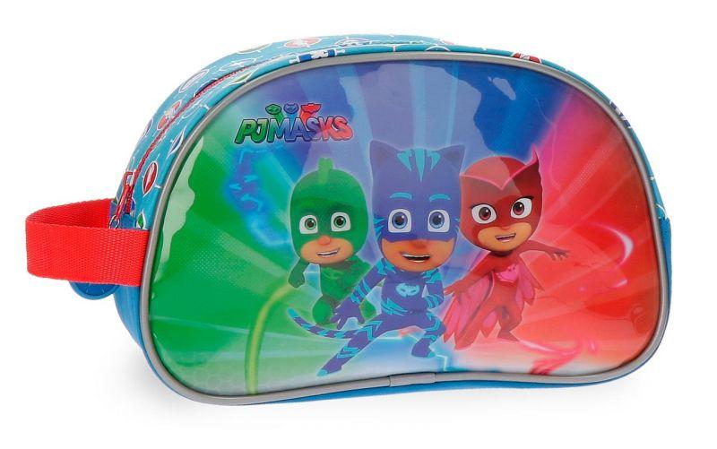 Kosmetická taštička / penál Pj Masks 26 x 16 x 11 cm Greg / Connor / Amaya