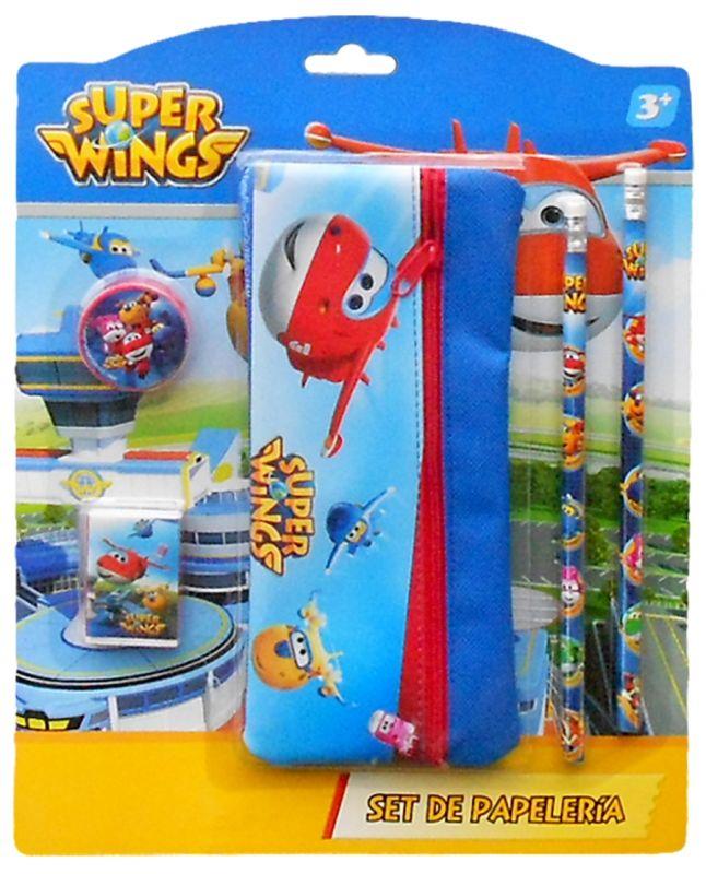 Sada Školních Potřeb S Letadly Super Wings
