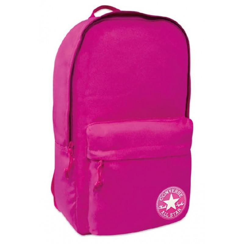 Školní batoh / Converse / Tmavě růžový / 45 x 27 x13 cm