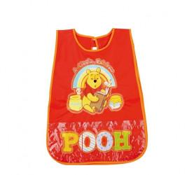 Dětská zástěrka červená Medvídek Pú / Winnie The Pooh / veci do skoly