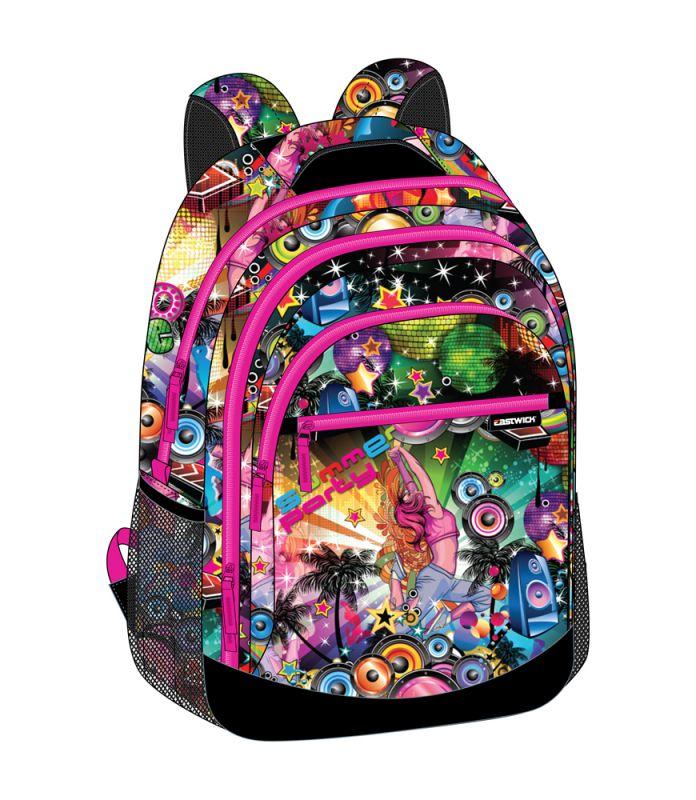 284c7d56976 Studentský batoh Hipster   Modrý   48 x 32 x 17 cm