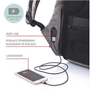 ... Dívčí školní bezpečný batoh proti krádeži Spirit 48 x 26 x 11 cm    vecidoskoly ... 653ec9c863
