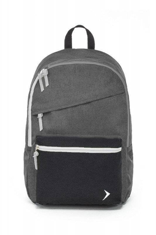 Studentský školní / cestovní batoh 4F Outhorn Grey / Black 46 x 29 x 12 cm / vecidoskoly