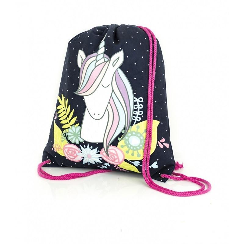 Školní gym bag / pytlík s motivem Jednorožce / Unicorn 45 x 30 cm