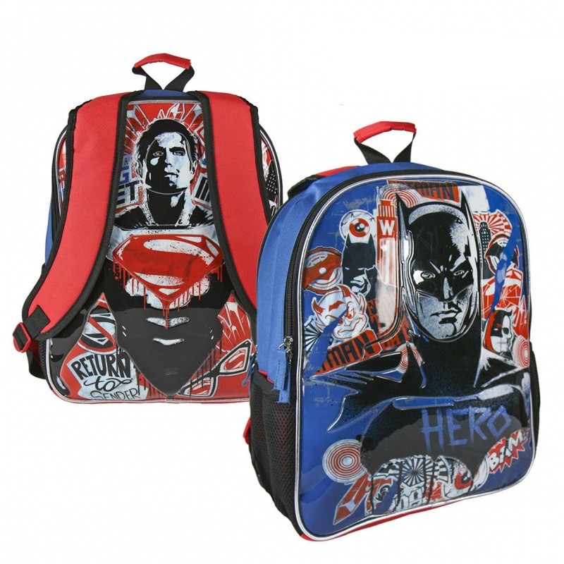 Chlapecký oboustranný batoh Batman vs Superman 31 x 41 x 13 cm