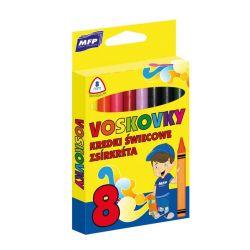 Voskovky 8 barev / trojhranné