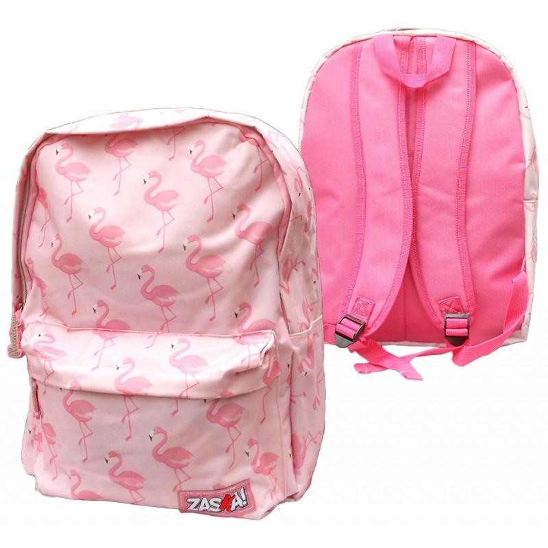 Batoh růžový Plameňák / Flaming / 41 X 31 X 15 CM / veci do skoly