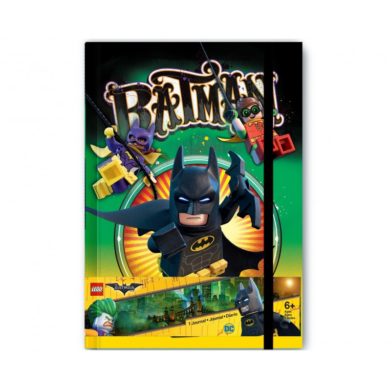 NOTES / BLOK LEGO BATMAN / 20 X 14 CM / VECI DO SKOLY