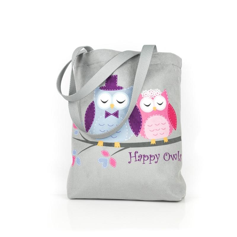 Taška přes jeno rameno Happy Owls / Sovičky / 25 x 19 x 4 cm