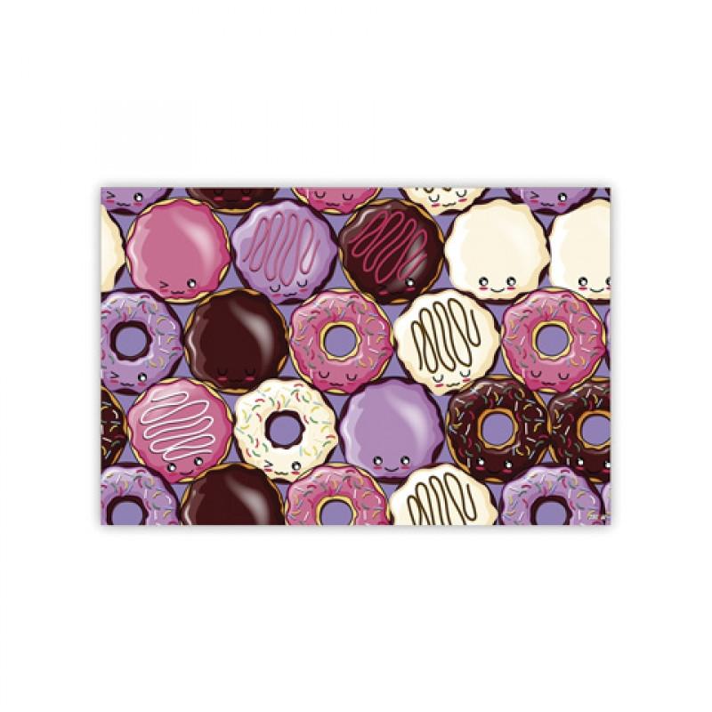 Podložka školní / Jídelní Donuty / 43 x 28 cm / veci do skoly
