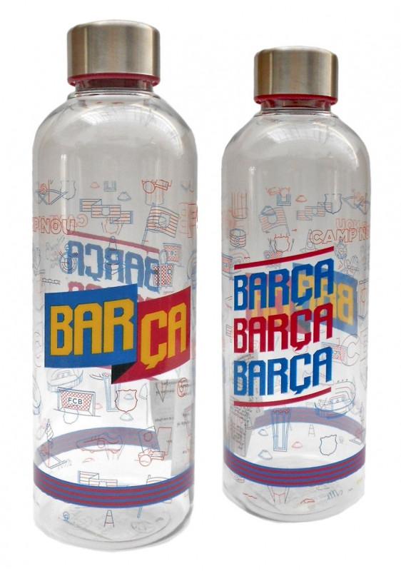 Plastová láhev na vodu FC Barcelona / 850 ml