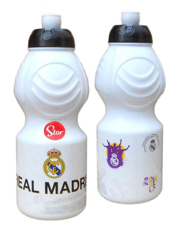 Sportovní plastová láhev  Real Madrid / 400 ml