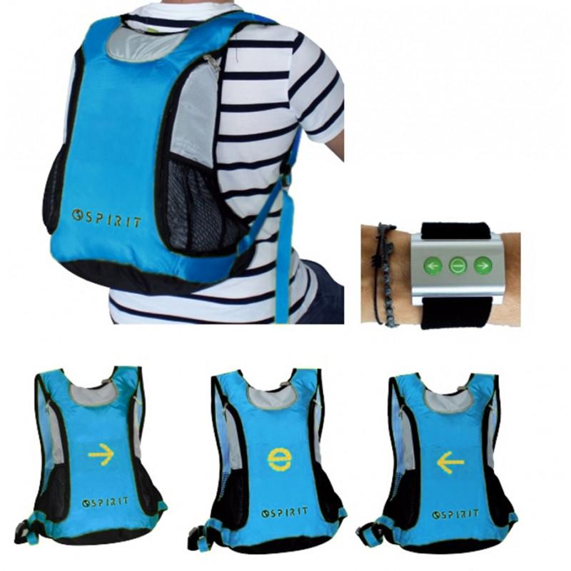 Signalizační batoh pro cyklisty Spirit / 30 x 47,5 x 14 cm / veci do skoly