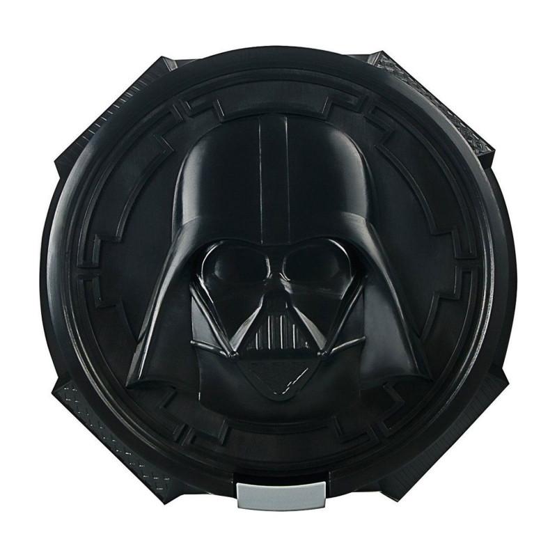 Krabička na svačinu / lunch box Lego Star Wars / Darth Vader / 16,5 x 16,5 x 6,5 cm