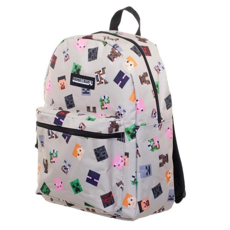 Jednokomorový batoh Minecraft / 30,5 x 40,5 x 14 cm / veci do skoly