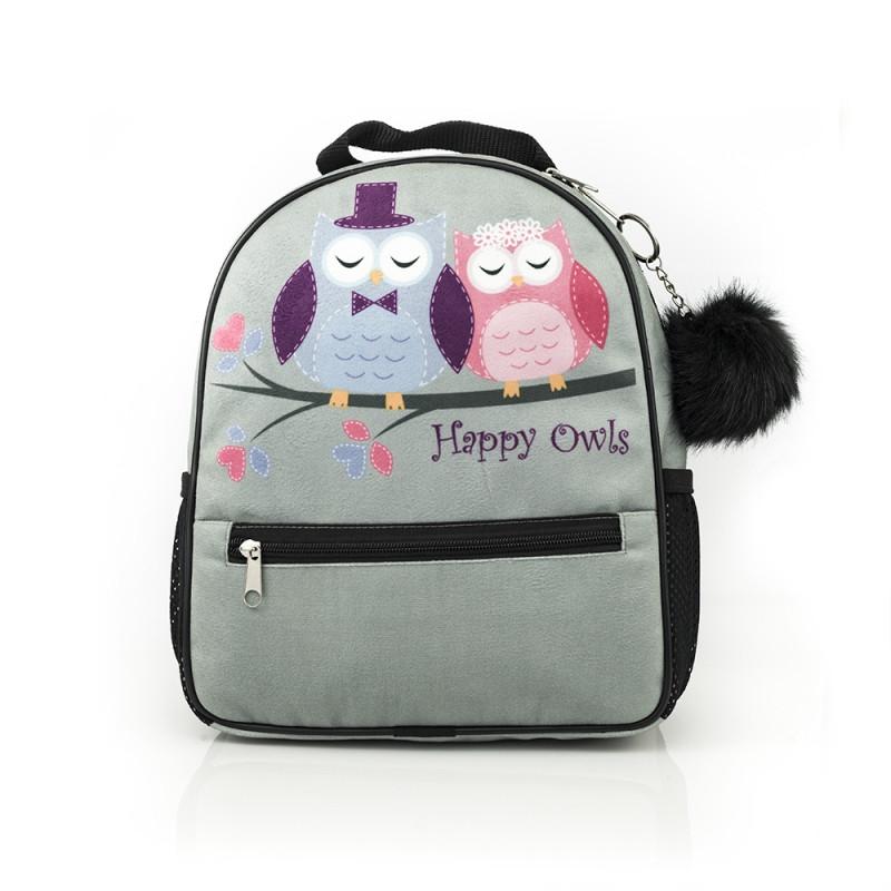 Batoh Happy Owls / 28 x 23 x 9 cm