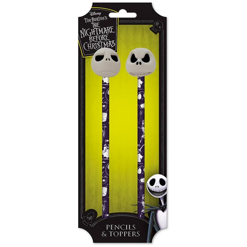 Tužky s gumou Ukradené vánoce / 2 tužky v balení / veci do skoly