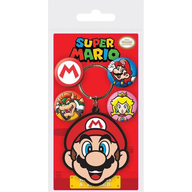 Klíčenka / Přívěsek Super Mario / veci do skoly