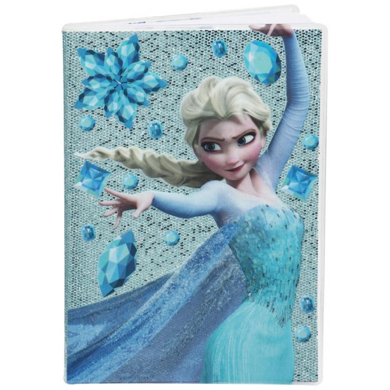 Deník / Blok Třpytivý Frozen / A5 / 1 x 21 x 14 cm