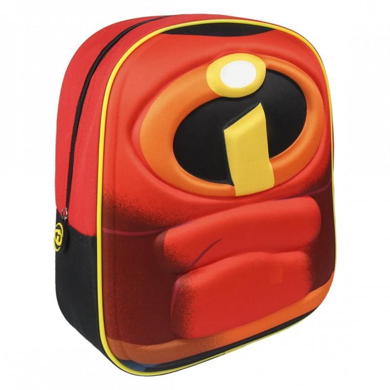 Dětský batoh 3D Úžasňákovi / The Incredibles 3D / 26 x 31 x 10 cm