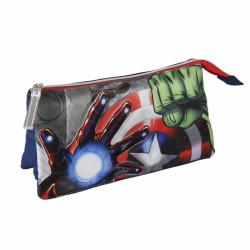 Penál / Pouzdro tříkomorové Avengers / 23 x 15 x 8 cm / veci do skoly