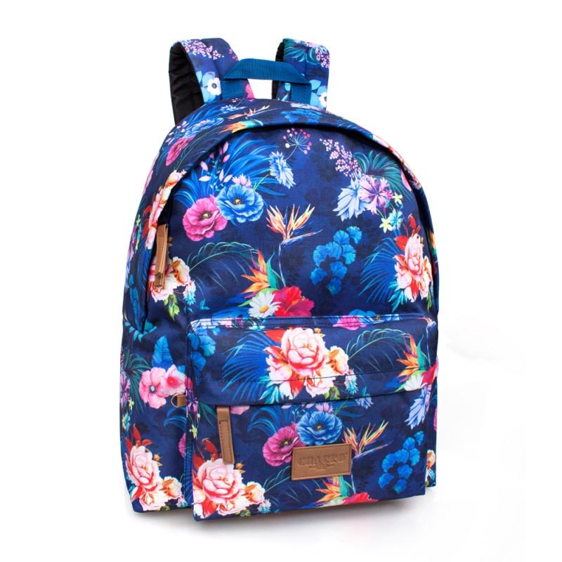 Studentský batoh El Charro flowers / 43 x 33 x 13 cm / veci do skoly