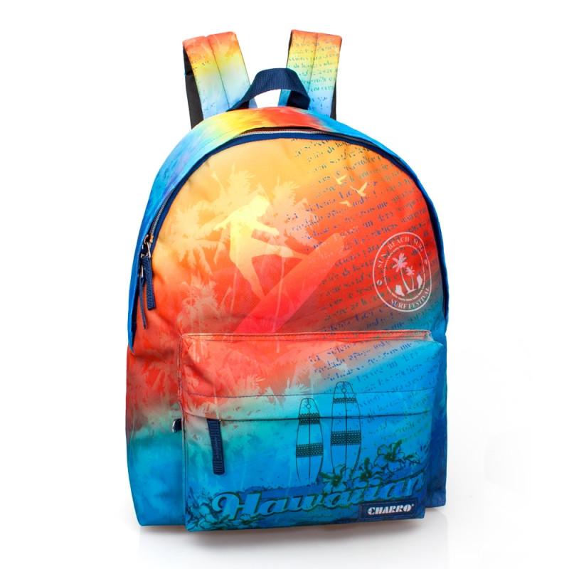 Studentský batoh El Charro Hawaiian / 43 x 33 x 13 cm / veci do skoly