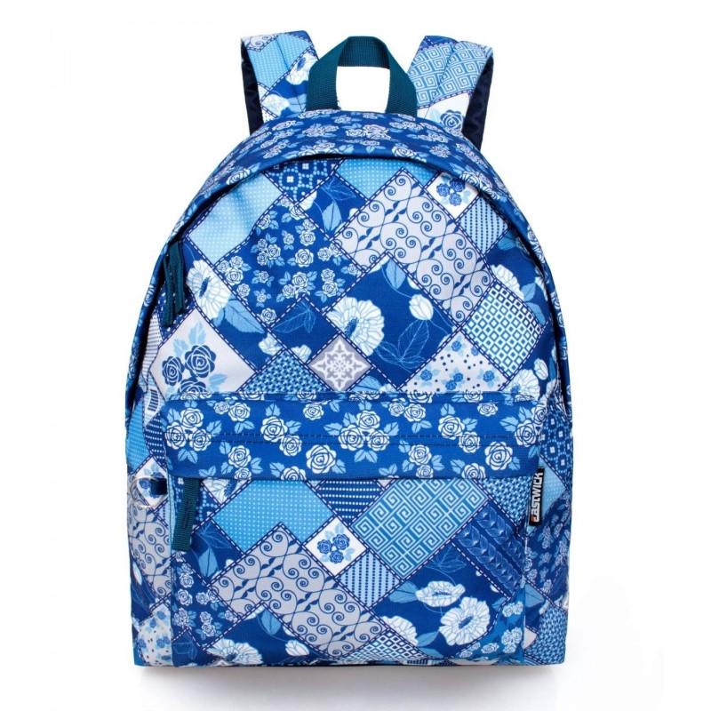 Studentský batoh Eastwick modrý / 43 x 33 x 13 cm / veci do skoly