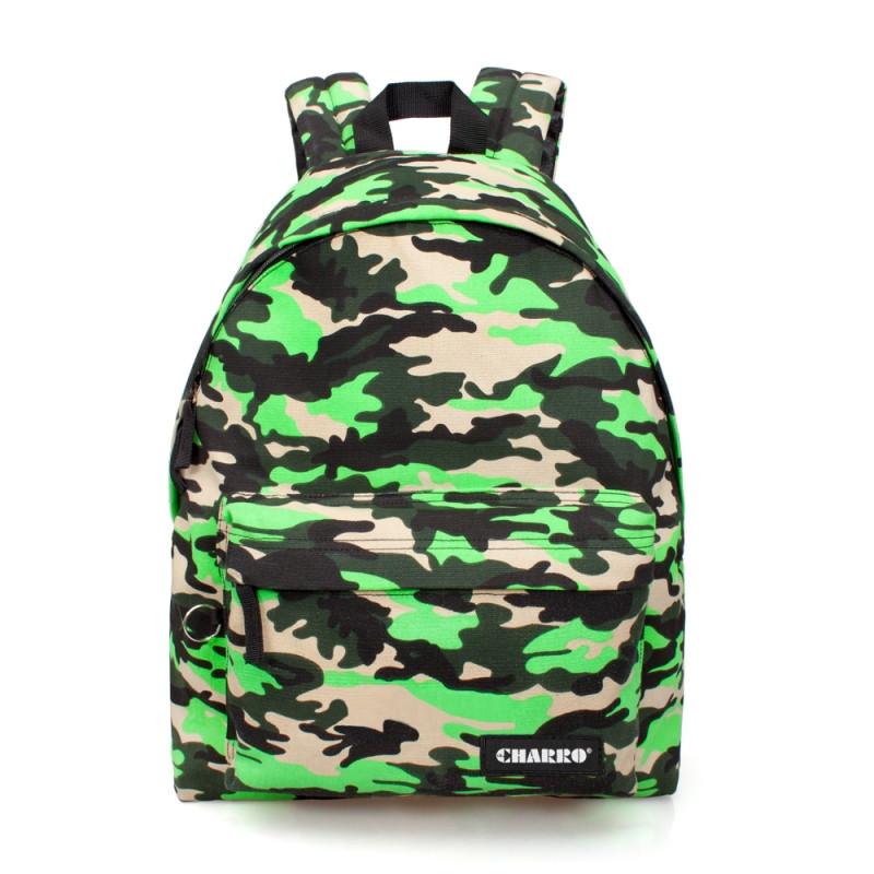 Studentský batoh El Charro zelený / 43 x 33 x 13 cm / veci do skoly