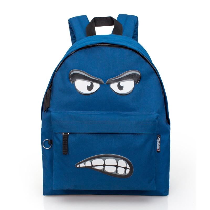 Studentský batoh Eastwick Face / 43 x 33 x 13 cm / veci do skoly