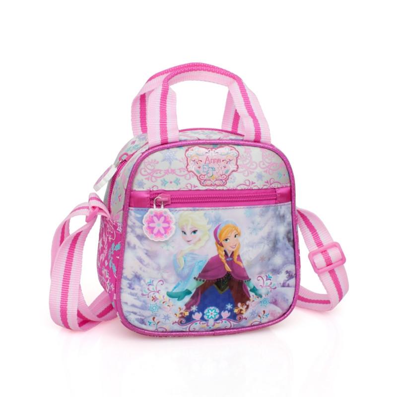Dívčí kabelka na jedno rameno Frozen / 17 x 16,5 x 9,5 cm