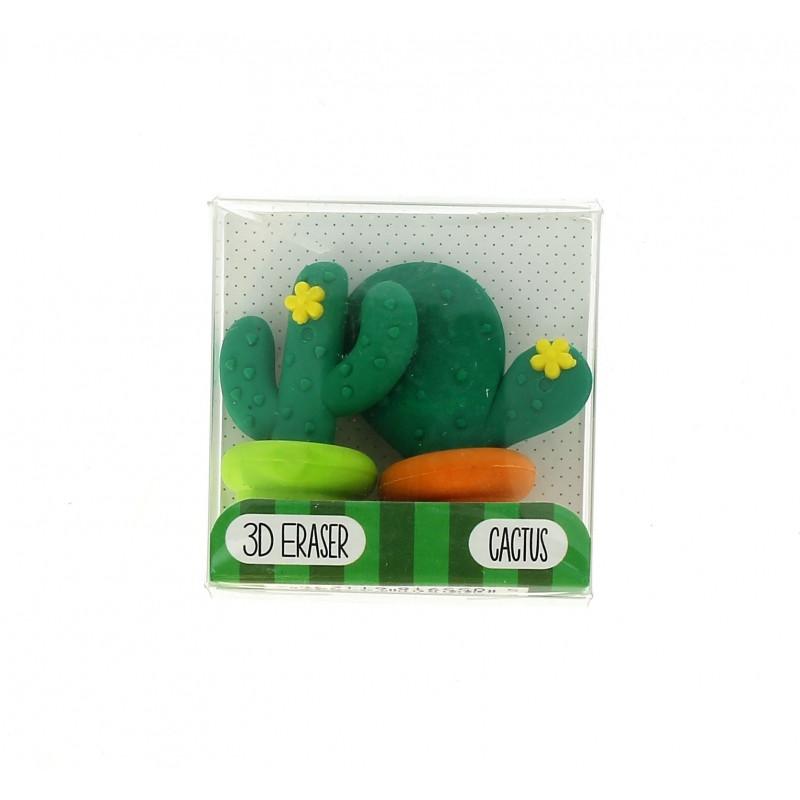 Dekorativní školní gumy Kaktus / 2 kusy v balení  / veci do skoly