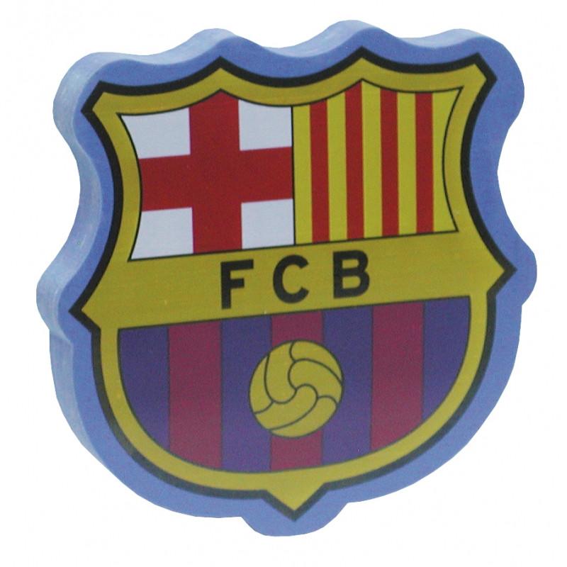 Školní dekorativní guma znak FC Barcelona / Jumbo