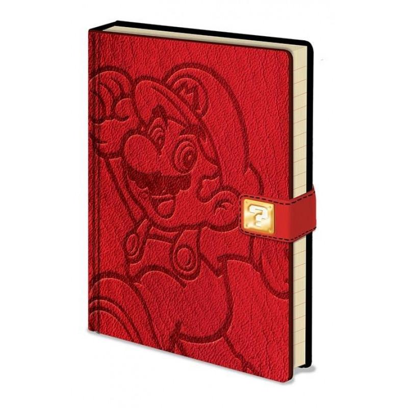 Notes / Blok Super Mario Premium A5 / linkovaný / 100 stran
