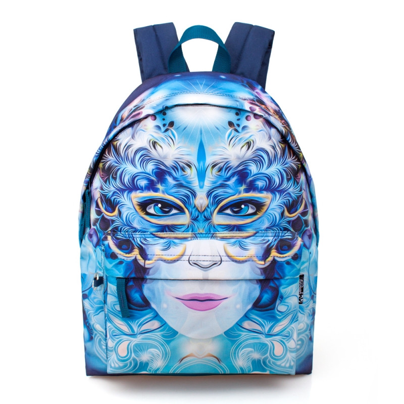 Studentský batoh dívčí Delbag / 43 x 33 x 13 cm / veci do skoly